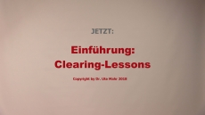 Clearing-Lessons (Einführung)